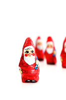 Santa claus candies