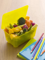 Vegetables in a lunch box