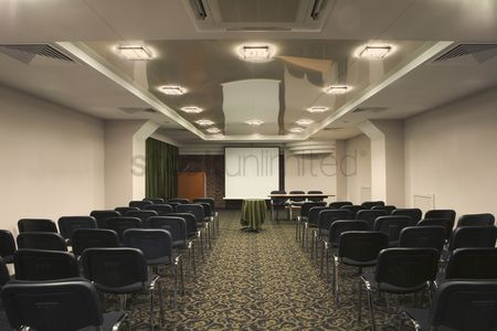 Interior : A meeting room