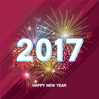 2017 happy new year greeting