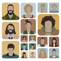 A collection of people avatar