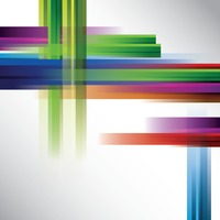 Abstract colored lines background