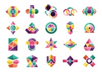 Popular : Abstract design elements