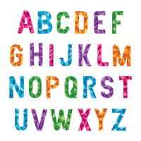 Abstract design of alphabets