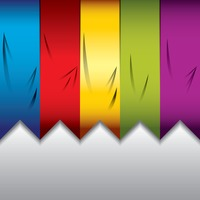 Abstract ribbons background