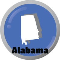 Alabama state map