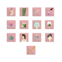 Popular : Beauty and spa icons