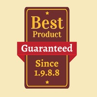 Best product guaranteed label