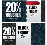 Black friday gift vouchers