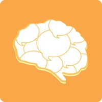 Brain with thought bubbles