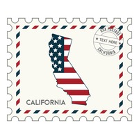 California postage stamp