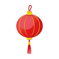 chinese new year traditional lantern design