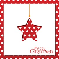 Popular : Christmas star card design