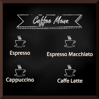 Popular : Coffee menu design