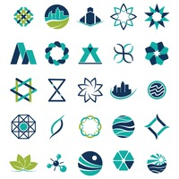 Popular : Collection of abstract icons