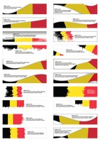 Popular : Collection of belgium flag banner