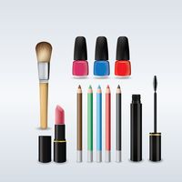 Collection of cosmetic products