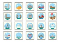 Popular : Collection of famous landmarks