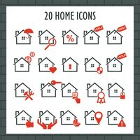 Popular : Collection of home icons