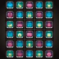 Popular : Collection of mobile icons