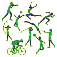 Collection of sports activities