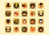 Popular : Collection of thanksgiving icons