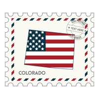 Colorado postage stamp