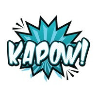 Popular : Comic effect kapow