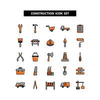 Popular : Construction icon set