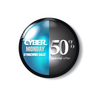 Popular : Cyber monday sale button