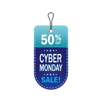Popular : Cyber monday sale tag