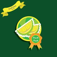 Popular : Durian label