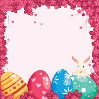 Popular : Easter greeting card