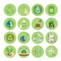 Popular : Ecology and recycle icons