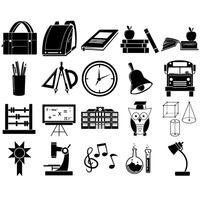 Popular : Educational icons