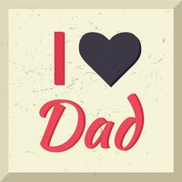 Father s day greeting design