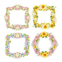 Popular : Flowers frame collection