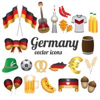 Popular : Germany vector icons collection