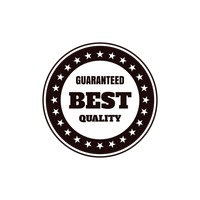 Guaranteed best quality label