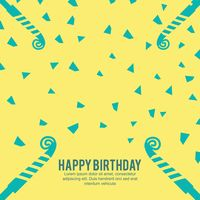 Popular : Happy birthday with copy space