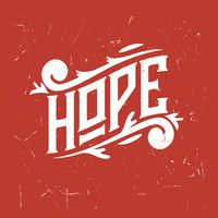 Hope typography design