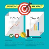 Infographic of marketing strategy