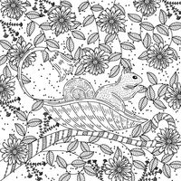 Popular : Intricate squirrel design