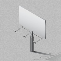 Isometric billboard