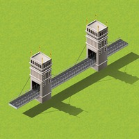 Isometric bridge