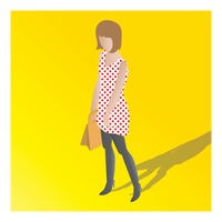Popular : Isometric of a woman