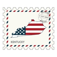 Kentucky postage stamp