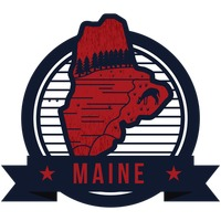 Popular : Map of maine state