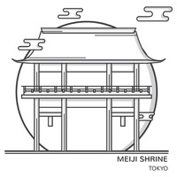 Popular : Meiji shrine