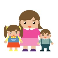 Popular : Mother and children